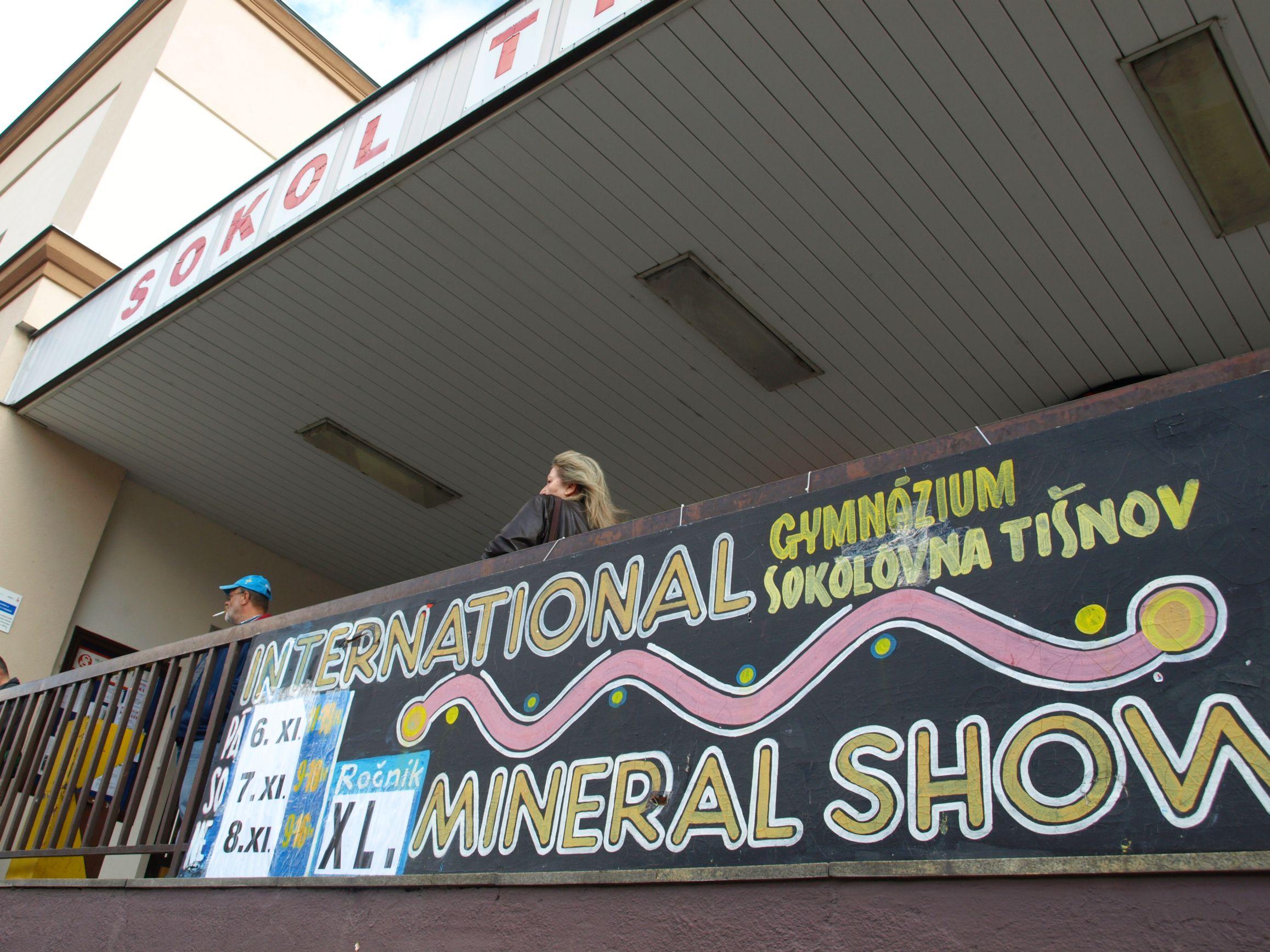 Malé fotoohlédnutí za XL. Mineral show Tišnov